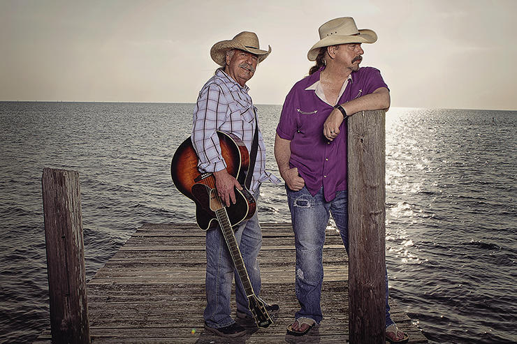 The Bellamy Brothers are coming back to Salado!