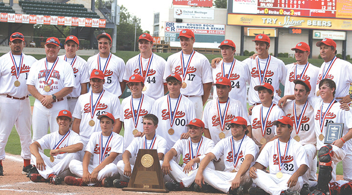 Salado Eagles win state baseball championship