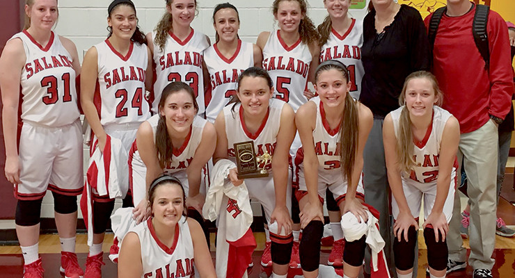 Salado Lady Eagles basketball team