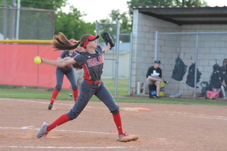 Meagan Hill notches no-hitter as Lady  Eagles bounce back for district wins