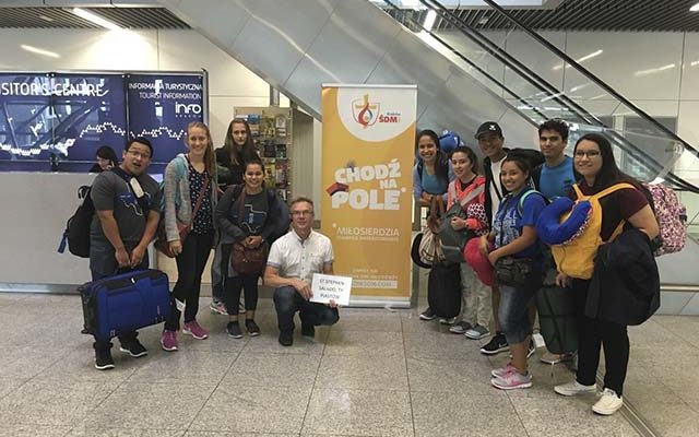Saint Stephen youth take part in World Youth Day