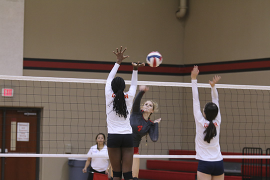 Lady Eagles beat Leander Glenn