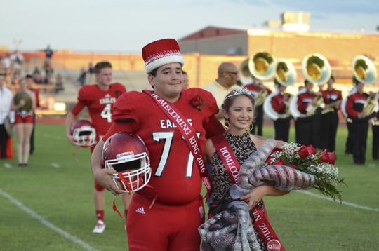 Salado Homecoming King and Queen 2016
