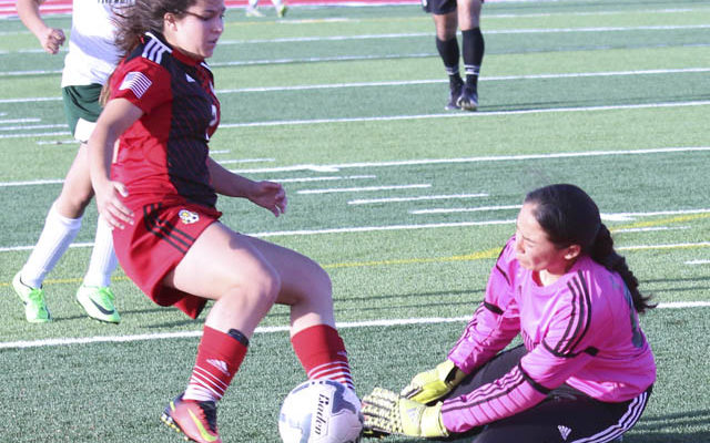 Lady Eagles shut out Taylor in first round