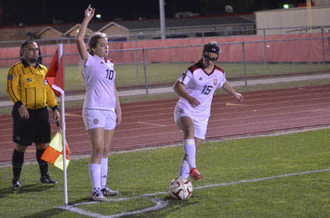 Lady Eagles run up hat tricks, shut out foes