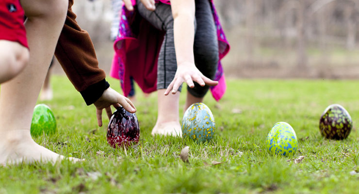 Easter activities in Salado
