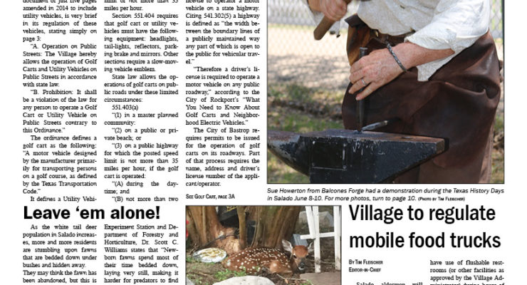Salado Village Voice June 14 2018
