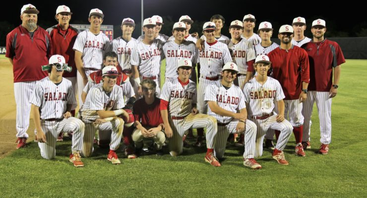 Salado Eagles are one win away from returning to State Baseball Tournament