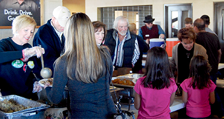 Methodists Serve Thanksgiving