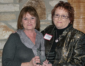 Chandler honored as Ambassador of Year