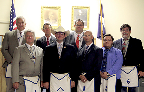 Salado Masonic Lodge Officers 2014-15