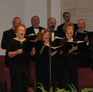 Salado Community Chorus performs an annual Christmas Concert at the First Baptist Church of Salado on the second Thursday of December. The group practices every week.