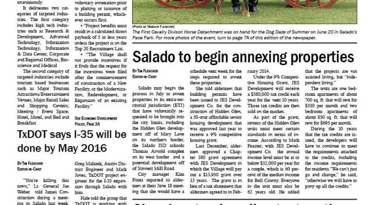 Salado Village Voice June 25, 2015