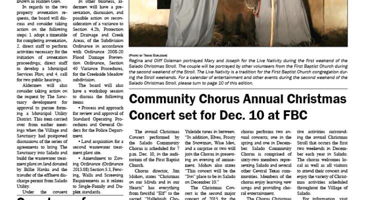 Salado Village Voice December 10 2015