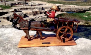 Whiskey cart by the late Wilbur Foster
