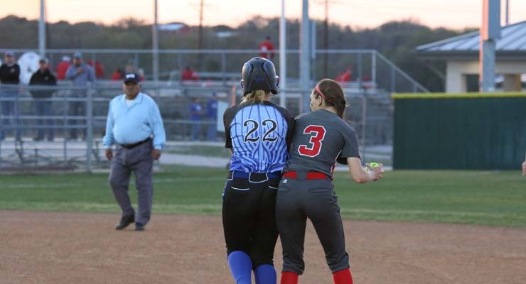 Lady Eagles lose two district games