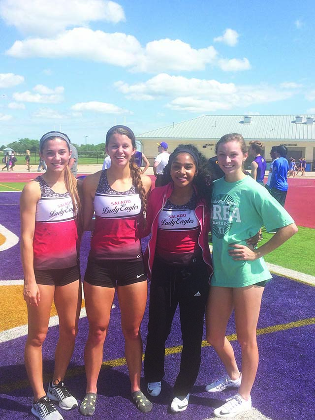 Lady Eagles send six to Regionals