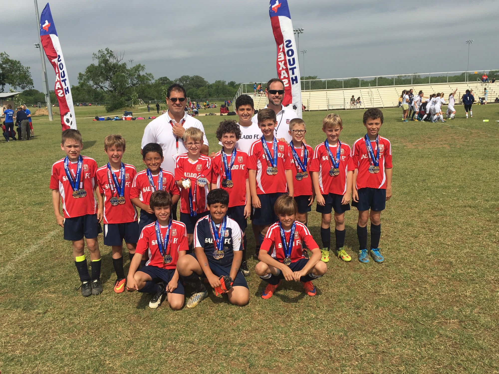 CONGRATS to FC Salado u11 boys 2nd place finish in state!