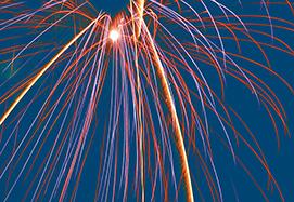 Fireworks at Mill Creek July 2