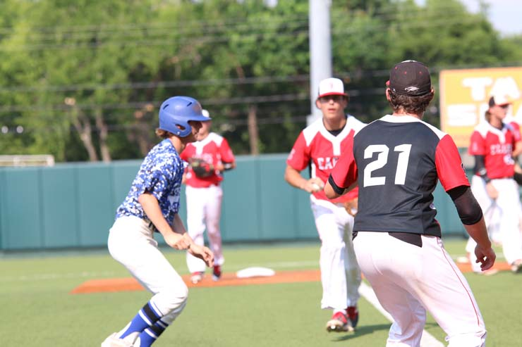 Eagles beat Robinson, play Wylie in State Final today