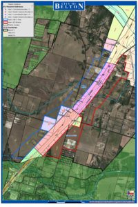 Annexation map of areas 3 and 4. Click to enlarge.