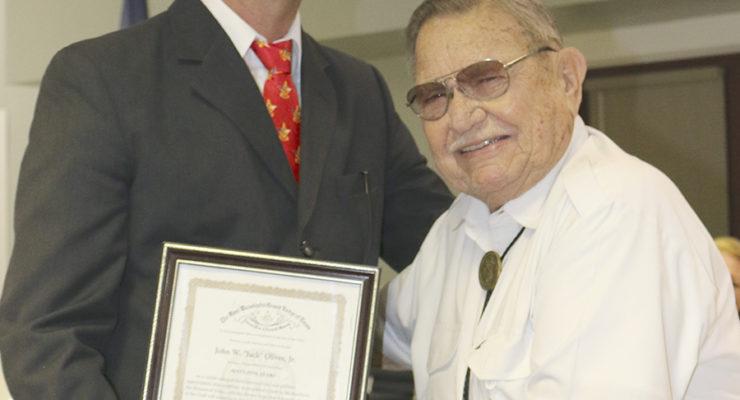 Salado Masonic Lodge honors longtime members