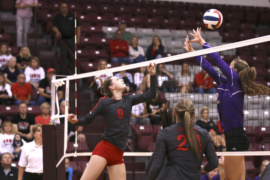 Lady Eagles fall to LaGrange in Area volleyball