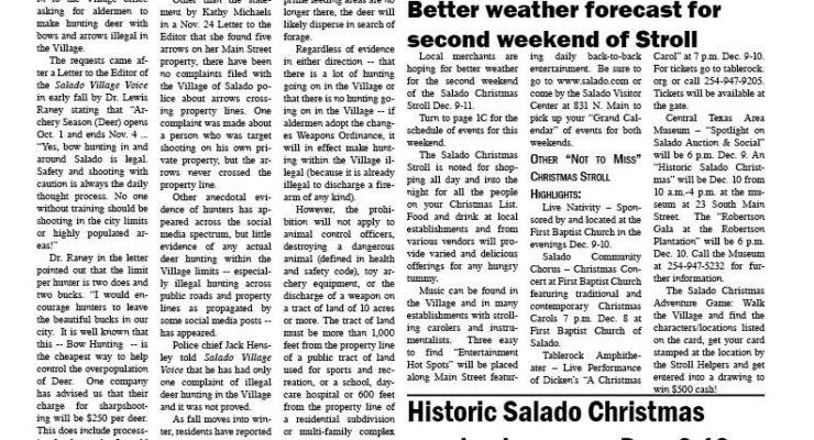 Salado Village Voice December 8 2016