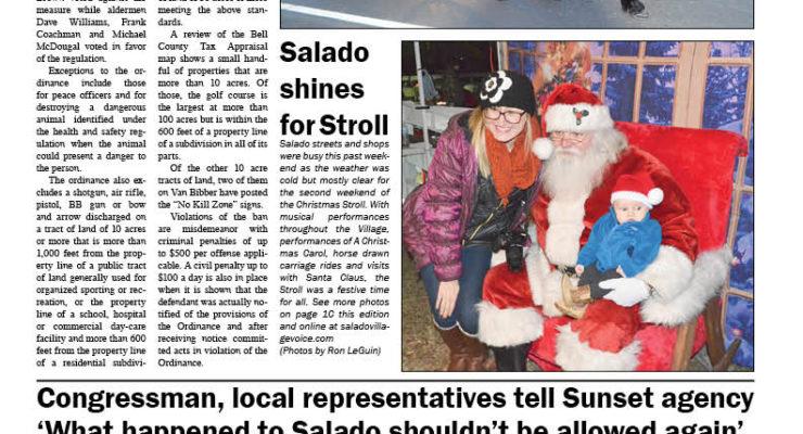 Salado Village Voice December 15 2016
