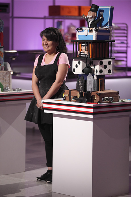 Lily Halabi on Cake Wars
