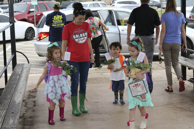 First Day of School in Salado ISD