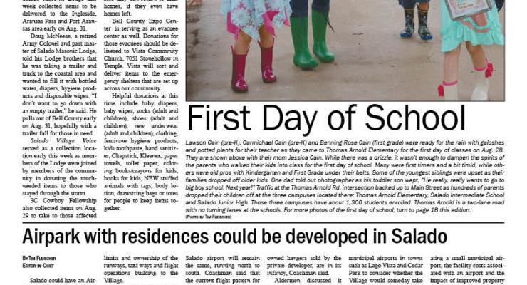 Salado Village Voice August 31 2017