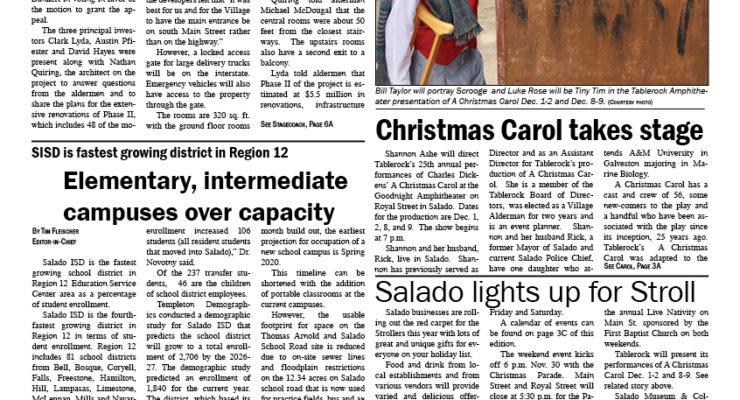 Salado Village Voice November 30 2017