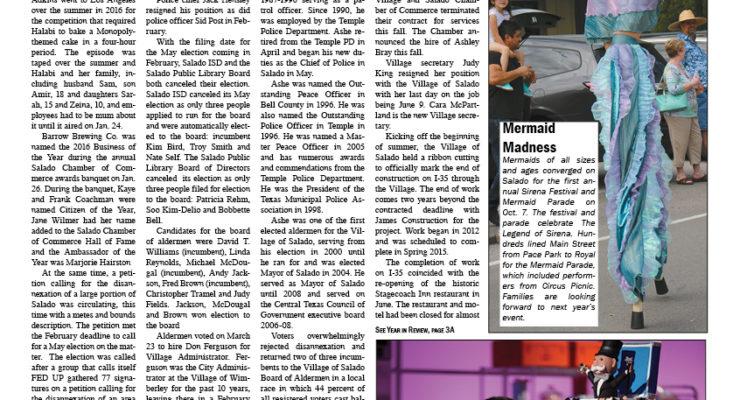 Salado Village Voice December 28 2017