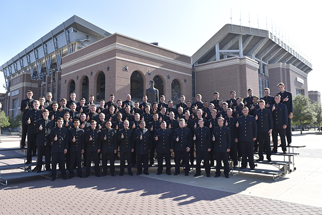 A&M Singing Cadets to perform at First Baptist Church