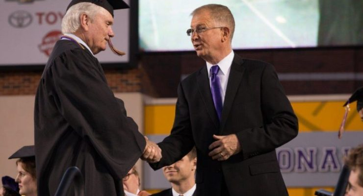 UMHB honors first male graduates 50 years after school went co-ed
