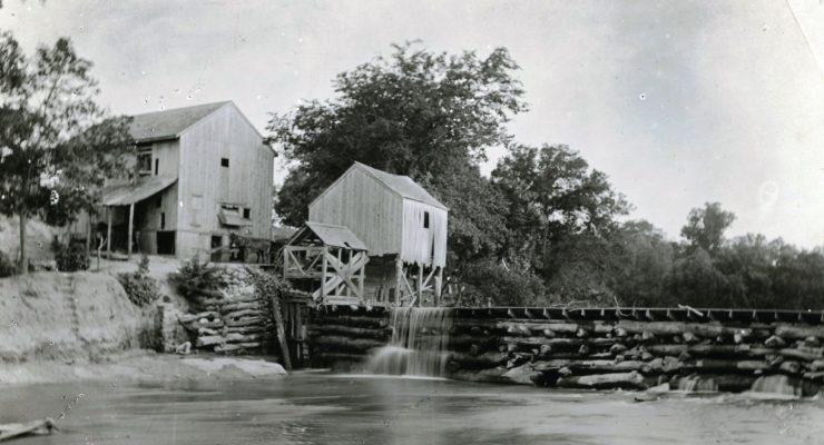 Chalk Mill is the first on Salado Creek