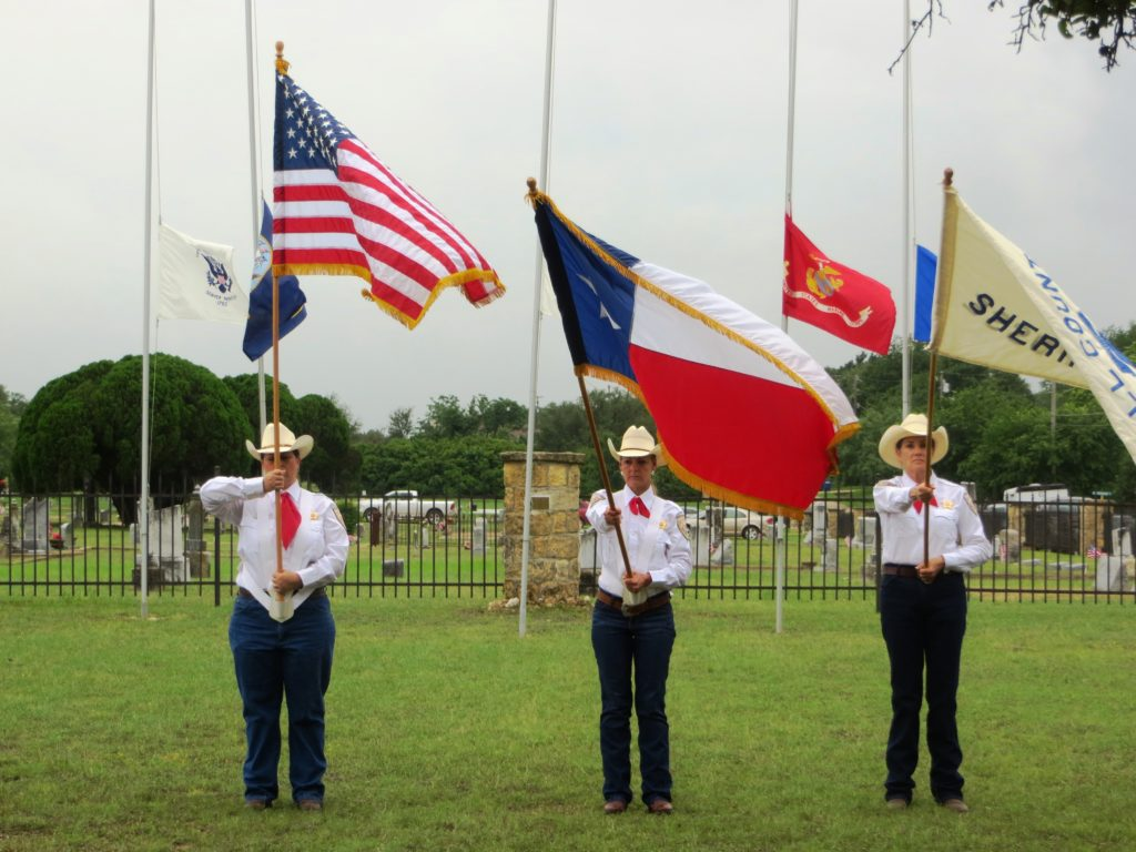 Memorial Day Service honors veterans buried in Salado cemeteries