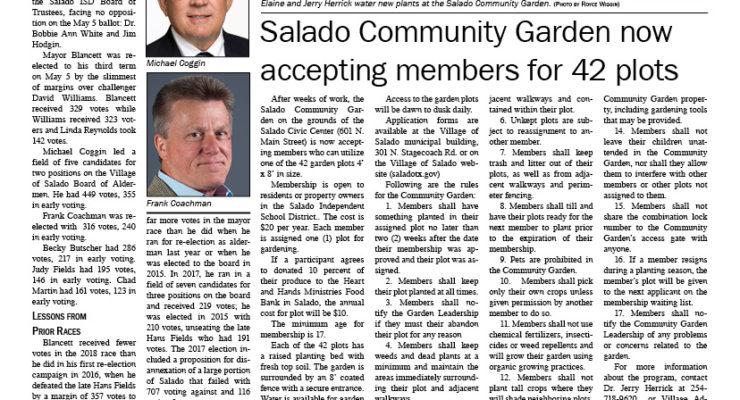 Salado Village Voice May 10 2018