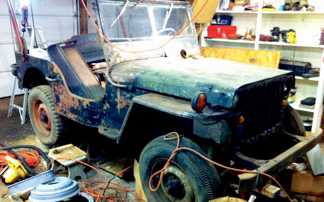 Willys Jeep has some stories to tell: check it out during AMC car show
