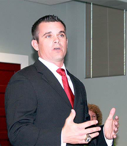Brent Graham is new Athletic Director