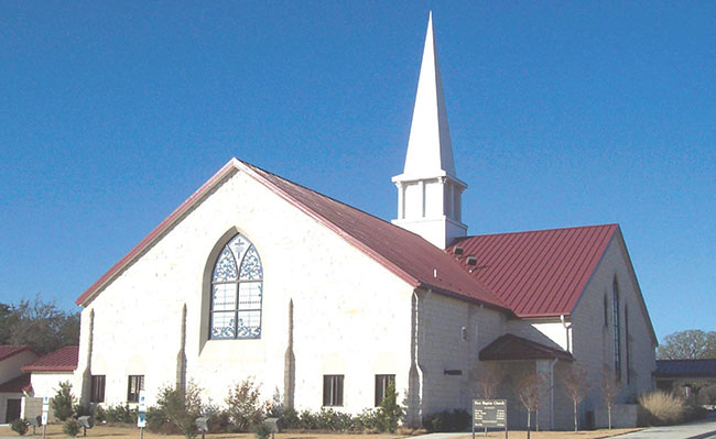 First Baptist Church celebrates 150 years