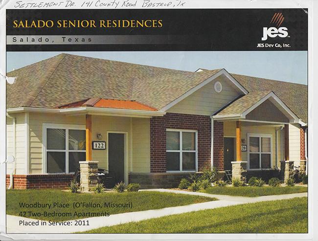Affordable senior living center