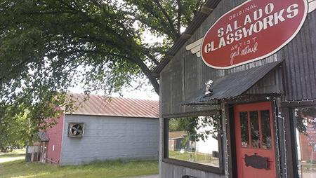 Salado Glassworks buys Peddler's Alley